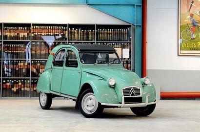 1963 Citroën 2 CV AZ PO