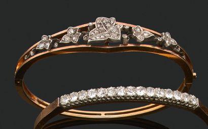 BRACELET ATTRIBUÉ À CH. FONTANA & CIE Diamants...