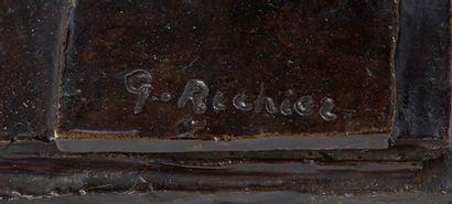 GERMAINE RICHIER (1904-1959) Homme de la nuit, circa 1950 Bronze, marqué du cachet...