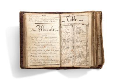 CHANSONS Manuscrit, Album lyrique, [mi-XIXe...