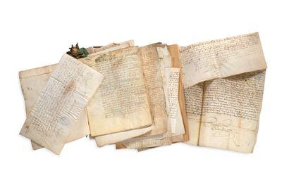 DIVERS Environ 150 lettres ou pièces, la...