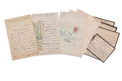 PIANISTES 16 lettres ou cartes, la plupart...
