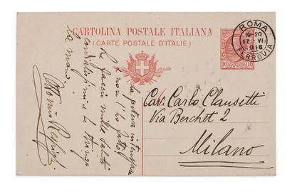 RESPIGHI OTTORINO (1879-1936) COMPOSITEUR