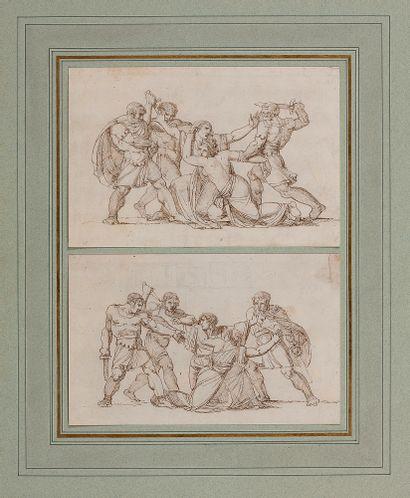 Ecole italienne fin XVIIIe siècle