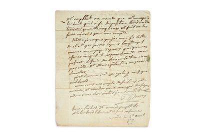 BARRAS PAUL (1755-1829) HOMME POLITIQUE,CONVENTIONNEL (VAR), MEMBRE DU DIRECTOIRE...
