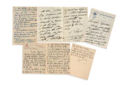 BEAUX-ARTS 70 lettres ou pièces, la plupart...