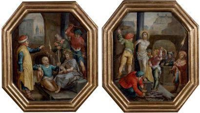 Ecole Hollandaise du XVIIème, suiveur de Jan PYNAS