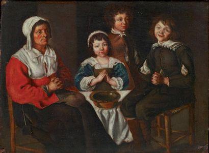 Ecole française du XVIIème, suiveur de Mathieu et Louis Le Nain
