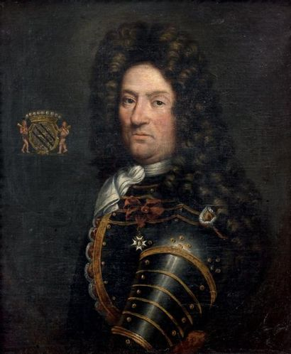 Ecole française du XVIIIème, suiveur de Hyacinthe RIGAUD