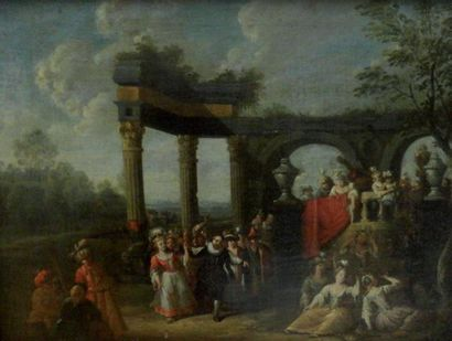 Attribué à franz Xavier VERBEEK (1686-1755)