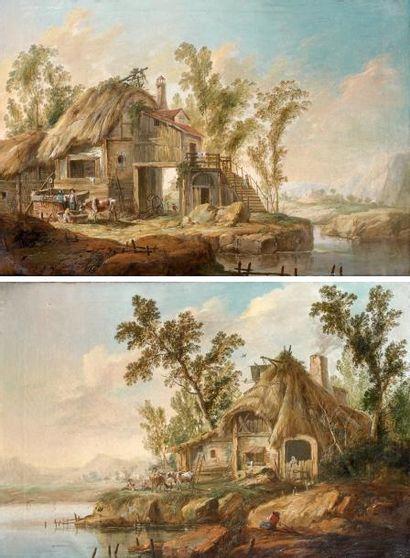Attribué à Jean Baptiste PILLEMENT (1717-1808)