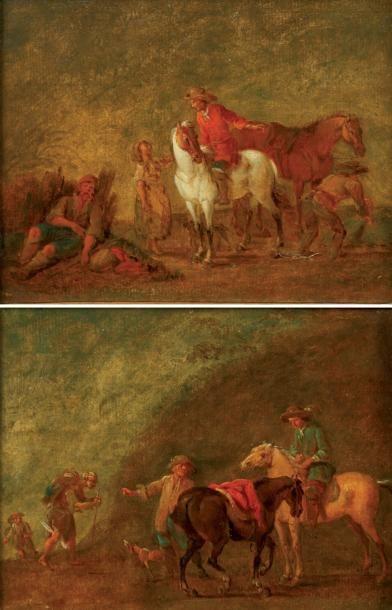 Attribué à August QUERfURT (1696-1761)