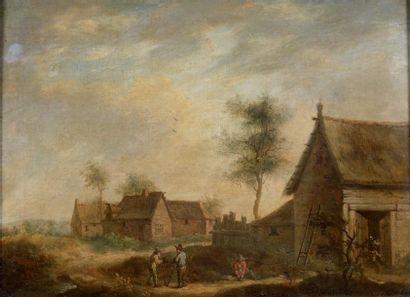 Ecole flamande du XVIIIème, suiveur de David TENIERS