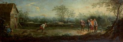 Ecole fLAMANDE du XVIIIème siècle, suiveur de David TENIERS