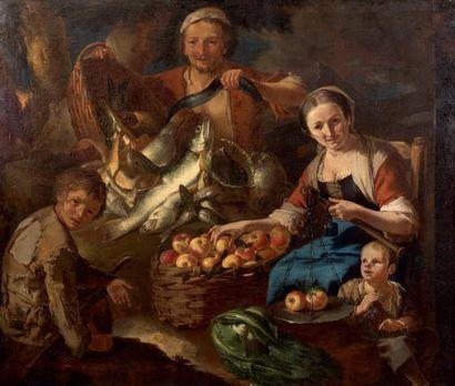 Giacomo francesco CIPPER dit Il TODESCHINI (Feldkirch, Vorarlberg 1664 - Milan 1736)