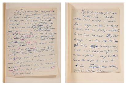 CELINE LOUIS-FERDINAND (1894-1961) Normance, Féerie pour une autre fois II, manuscrit...