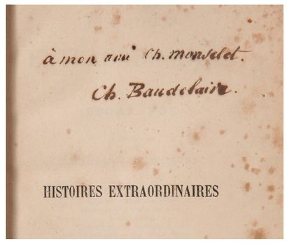 [BAUDELAIRE CHARLES] (1821-1867)