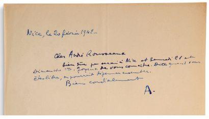 ARAGON Louis (1897-1982)