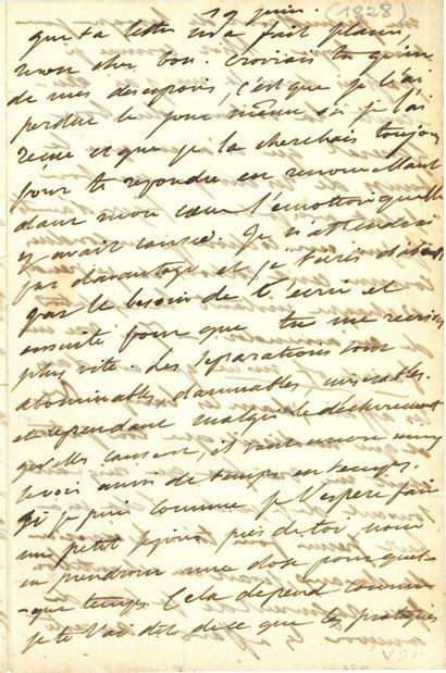 DELACROIX Eugène (1798-1863).