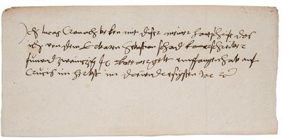 CRANACH Lucas (1472-1553).