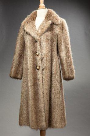 Manteau en marmotte T 40