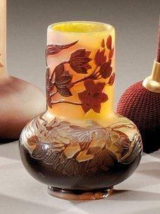 ETABLISSEMENTS GALLE Vase soliflore à panse...