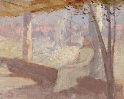 Pierre COMBET-DESCOMBES (1885-1966) attribué à