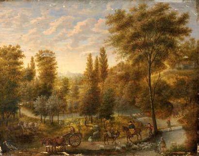 Ecole ALLEMANDE XVIIIème- XIXème siècle