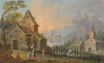 Ecole FRANÇAISE, fin XVIIIèmedébut XIXème siècle
