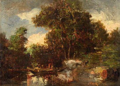 Théodore ROUSSEAU (1812-1867), attribué à