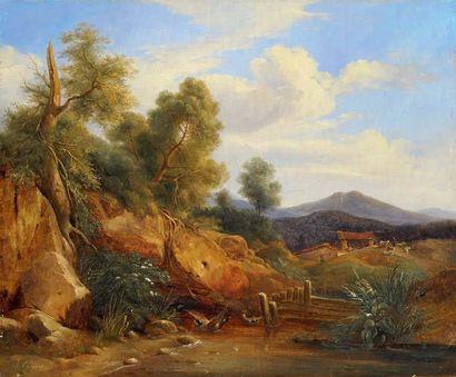 Jules COIGNET (1798-1860), &ttribué à