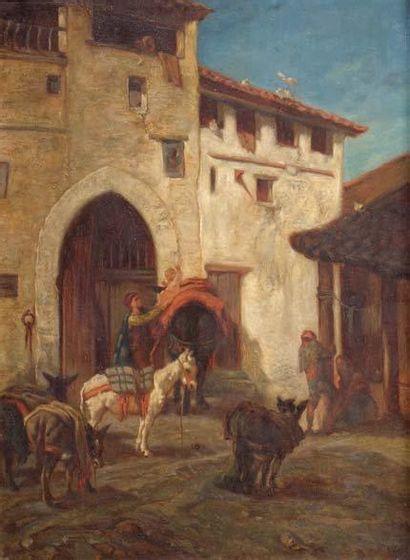 ECOLE ITALIENNE XIXème siècle