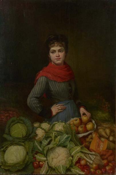 ECOLE FRANÇAISE vers 1870