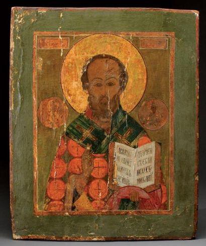 Saint Nicolas le Thaumaturge. Russie, fin...