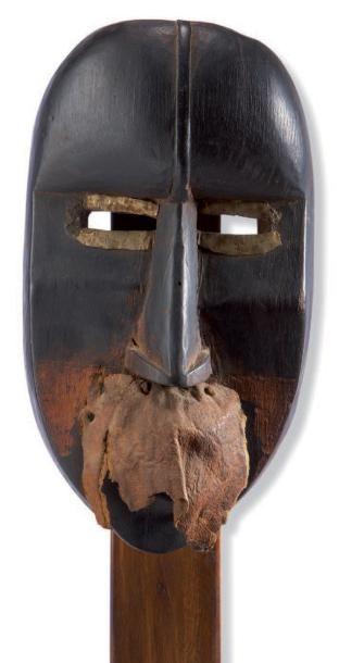 Dan. (Côte-d'Ivoire) Ancien masque représentant...