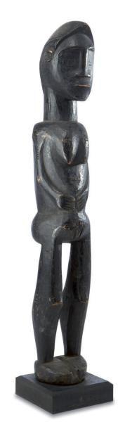 Baoulé. (Côte-d'Ivoire) Statuette féminine...