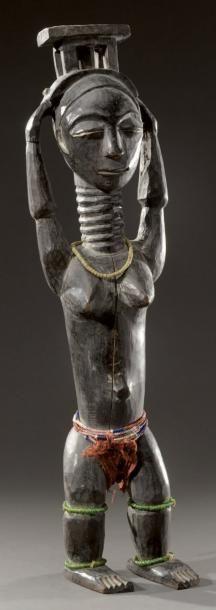 Attié (Côte d'Ivoire) Statuette représentant...