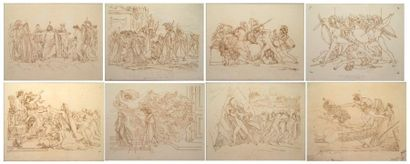 Atelier d'Anne-Louis GIRODET de ROUCY TRIOSON (Montargis 1767-Paris 1824)