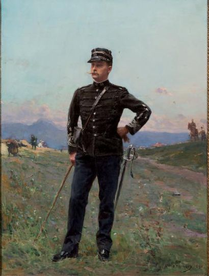 Paul Emile BOUTIGNY (1854-1929)