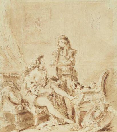 Attribué à Jean-Michel MOREAU, dit le Jeune (Paris, 1741-1814)