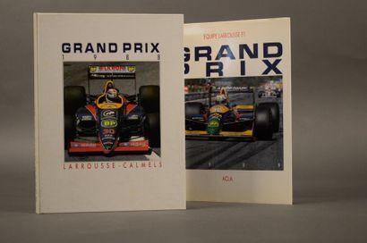Grand prix 1988 Grand prix 1989 Ed. Larrousse-Calmels...