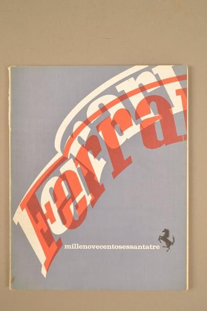 FERRARI YEARBOOK 1963