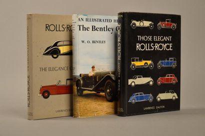 Ensemble de trois volumes ROLLSROYCE et BENTLEY...