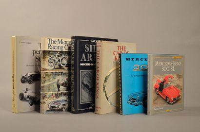 Ensemble de six volumes MERCEDES K. Ludvigsen...