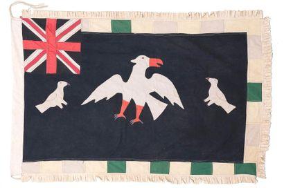 Très élégant drapeau Asafo flag Peuple Fante...