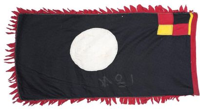 Petit drapeau Asafo flag Peuple Fante People...