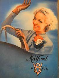 Catalogue Matford 1939