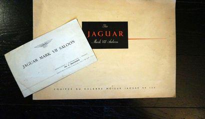 Catalogue Jaguar Mark VII Saloon équipée...