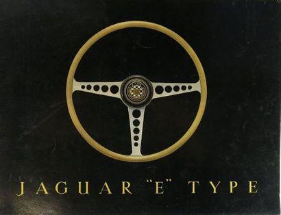 Catalogue publicitaire pour Jaguar Type E...
