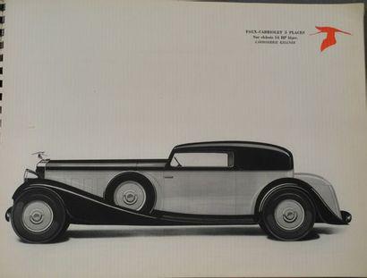 Catalogue Hispano Suiza N° 254 édition limitée...